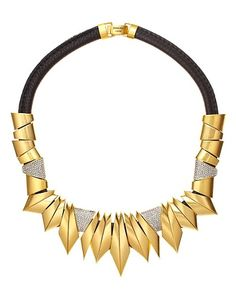 You don't get much more rock than our Gold Angular Necklace #RocktoberLoves