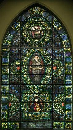 Peace window. Louis Comfort Tiffany. Chicago, IL Second Presbyterian Church.