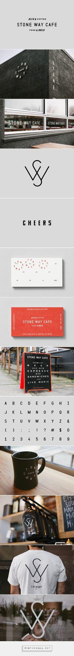 New Logo for Stone Way Cafe by Shore — BP&O - restaurant branding identity design