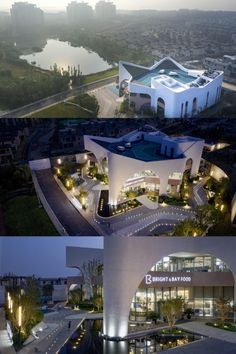 Architecture Design, Restaurant, Bright, Mansions, House Styles, Mansion Houses, Architecture Layout, Diner Restaurant, Restaurants