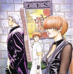 King of Fighters - Team Orochi/C.Y.S: Yashiro, Chris, and Shermie