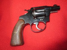 Colt Police Positive Hand Gun - Online Only Auction Ending Monday, February 16, 2015. Prairie Farm, WI. #auction #wisconsin