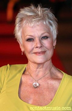 Judi Dench (1934, York) A Fine Romance, GoldenEye etc., Mrs. Brown, Mrs. Henderson Presents, Notes on a Scandal, etc. etc.