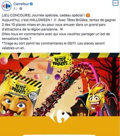 Halloween carrefour Attraction, Grand Parc, Halloween, Comic Books, Comics, Cover, Special Gifts, Pageants, I Want You