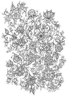 Floral Illustration by WelshPixie.deviantart.com on @DeviantArt