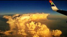 Flying from Nairobi to Gauteng ...