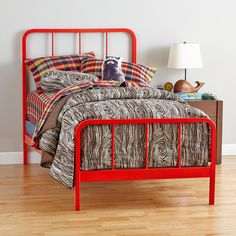 Primary Bed (Red-Orange) | The Land of Nod