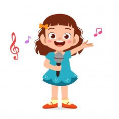 Cute Little Ballerina Girls Kids Cartoon Characters, Children's Book Characters, Cartoon Kids, Music For Kids, Art For Kids, Flashcards For Kids, Boy Illustration, Kids Vector, Video X