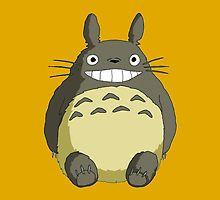 Totoro Studio Ghibli by nekhebit