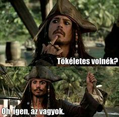 Pirates of the Caribbean Funny Mems, Funny Jokes, Funny Quotes For Instagram, Johnny Depp Movies, Pirate Life, Captain Jack, Pirates Of The Caribbean, Stupid Memes, Funny Moments