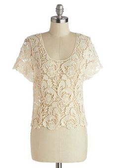 Literary Meet and Greet Top 29.99, #ModCloth