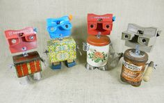I love this Etsy shop and these oddball creatures!!  oh to be creative!
