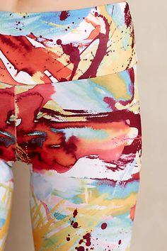 Splatter Art Leggings - anthropologie.com