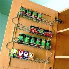 Spice Rack 436mm Wide