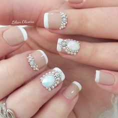 Los 30 mejores diseños de uñas para la primavera 2018 Pedi, Nailart, Hands, Beauty, Spring Nails, Best Nail Designs, Nailed It, French Nails, Cosmetology