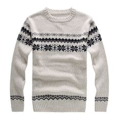 winter men sweater Nordic customs man's Sweater for knitwear men in casual style menswarm sweater-in Pullovers from Apparel & Accessories on...