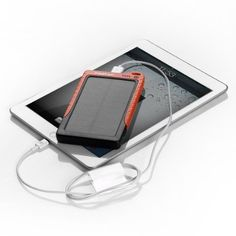 Poweradd™ Apollo 7200mAh Solar Panel Portable Charger --- I NEEED this for Creation next year