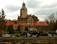 Czocha Castle in Poland where we were lucky enough to attend the College of Wizardry.