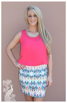 Ruffled Feathers Boutique - Spike The Punch Dress, $24.00 (http://www.ruffledfeathersboutique.com/spike-the-punch-dress/)