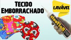 Tecido Emborrachado Caseiro com 1 Material - YouTube Decoupage, Patches, Youtube, Artwork, 1, Seashell Crafts, Paper Engineering, Diy And Crafts, Pintura