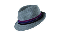 #FridaysFavourite | Grey hat made of wool with colour accents #bugattifashion #menswear #hat #accessory