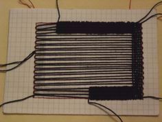 Ther is another method to achieve pretty much the same as shown in the first part, I'm showing you this first before going into advanced weaving techniques. I'm calling it a cardboard l…
