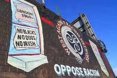 A mural on the Falls Rd in Belfast