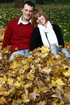 Fall Engagement Session - DC Photography