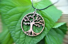 Tree of Life pendant by GioGioDesign on Etsy