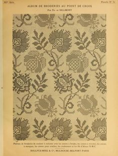 """embroidery"" - It Was A Work of Craft Cross Stitch Freebies, Cross Stitch Books, Cross Stitch Borders, Cross Stitch Samplers, Cross Stitch Flowers, Cross Stitch Charts, Cross Stitch Designs, Cross Stitching, Cross Stitch Patterns"