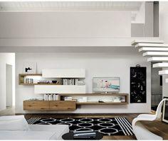 livitalia wohnwand c25 - Moderne Wohnzimmermoebel