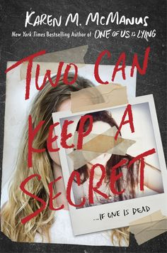 US #CoverReveal Two Can Keep a Secret by Karen M. McManus