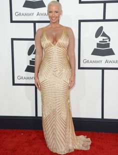 Amber Rose...Love the gown!!!