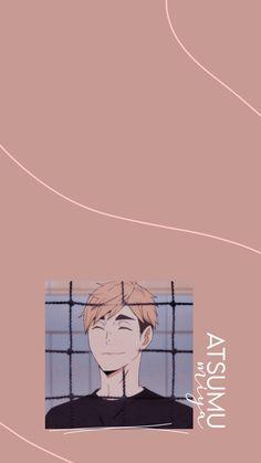 Haikyuu Wallpaper, Cute Anime Wallpaper, Iphone Wallpaper, Miya Atsumu, Character Wallpaper, Haikyuu Manga, Digital Art Girl, Lock Screen Wallpaper, Art Sketchbook