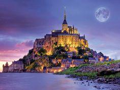 Mont St. Michel, France - Buscar con Google