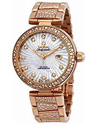 Luxury Watch - Omega De Ville Ladymatic Automatic Mother of Pearl Dial  Ladies Watch 425.65. fdb85ceb9a