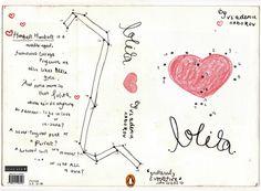 Lolita by Vladimir Nabokov book cover by Dg Design