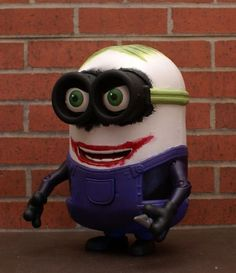 Joker Minion (Despicable Me) Custom Action Figure