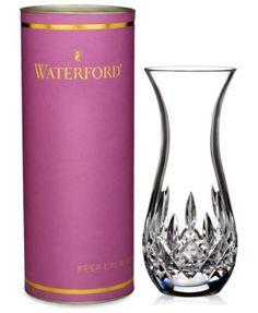 Waterford Giftology Sugar Bud Vase | macys.com
