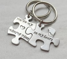 DUKE Personalised Name Keyring Keychain Key Fob Bespoke Stainless Steel Gift