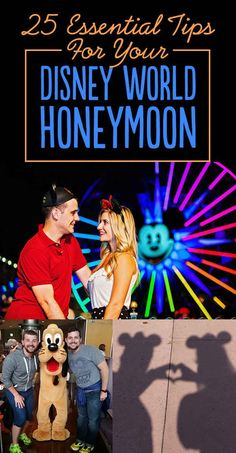 25 Tips For A Magical Disney World Honeymoon. Idk they had a disney honeymoon registry!! Great idea
