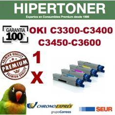 en hipertoner.es puedes encontrar toners compatibles para OKI C3300-C3400-C3450-C3600 de una gran calidad a unos precios increíbles, el ahorro es considerable respecto a los toners originales