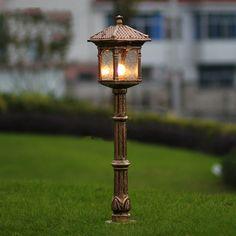Fashion europe lawn lamp outdoor garden light luxury antique lamps backyard decoration lighting WCS-OLL008