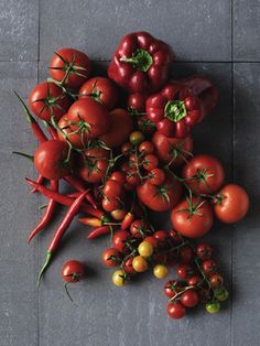 red vegetables - photographer william meppem