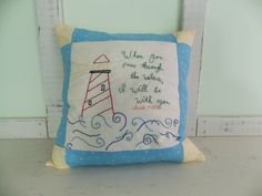 Hand embroidered pillow made by content sew Embroidered Pillows, Feather Pillows, Pillow Inserts, Hand Sewing, Home Goods, How To Draw Hands, Content, Throw Pillows, Embroidery