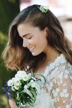Hoe mooi is deze look?! Laat je inspireren door 5 prachtige looks voor de bruid! Foto: Mandy Aileen Photography