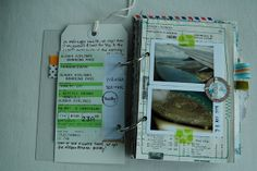 using a tag to journal on via destination art journal 5 | Flickr - Photo Sharing!