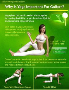 3 Best Yoga Poses for Golfers! More at #lorisgolfshoppe