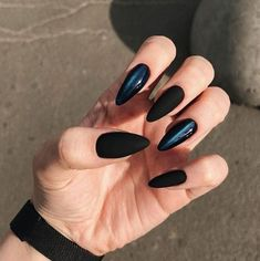 30 Charming And Sexy Matte Nail Designs You Ll Love In 2019 Page 11 Of 32 Nail Ideas Matte Black Nails Matte Nails Coffin Nails Sexy Nails Charming Nails Matte Coffin Nails Sexy Nails, Stiletto Nails, Trendy Nails, Coffin Nails, Acrylic Nails, Glitter Nails, Matte Black Nails, Black Nail Art, Brown Nails
