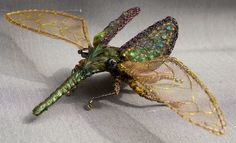 A few weeks ago I spent the day attheLondon Embroidery School partaking in their Bejewelled Beetle Masterclass with Michelle Carragher. Michelle is one of my embroidery hero's - her work includ...
